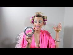 """White Trash Glam"" Halloween Makeup Tutorial - YouTube"