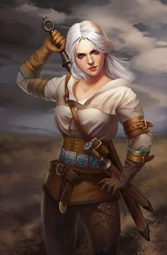 Ciri – The Witcher 3 fan art by Yu Liu Fantasy Armor, Anime Fantasy, Medieval Fantasy, The Witcher Geralt, Witcher Art, Power Girl, The Witcher Books, The Witcher Wild Hunt, Gamer Pics