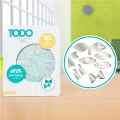 TODO Die Template Set Layered Gift Bow