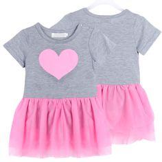 Купить товарBaby девушки новорожденный наряд футболка + туту платье день рождения комплект одежды SZ 1 3Y в категории Комплекты одеждына AliExpress.   Девочка детей Пышные юбки платье марли Любовь печать с коротким рукавом платья, наряды 1-3г 100% новый и высокое качес