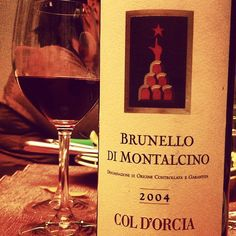 Brunello di Montalcino 2004 Col D'Orcia to accompany tonight's spaghetti, nice acidity, well integrated fruit, prefer the 04s to 06s the are rounder, look forward to taste the new vintages in April.