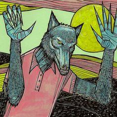 Werewolf Night Adventures scary beast monster by MATTYCIPOV