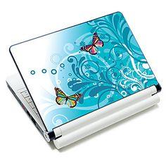 """""""Papillons"""" ordinateur portable autocollant de modèle de protection de la peau pour 10 """"/ 15"""" ordinateur portable 18671 (15 """"adapté à moins de 15"""") – EUR € 5.51"""