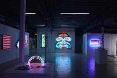 Installation view, Museum of Neon Art, Glendale