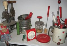 @Alleewillis,com & her museum of Kitch!!!  a collection of food choppers, whips ~ sifters ~ timers & assorted other fun things ~ ;)