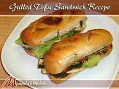 """These are absolutely delicious and flavorful sandwiches that are quick and easy to make. Tofu sandwiches are healthy and appropriate for Vegans, too. The Tofu provides a great source of protein, while the Hari Cilantro chutney brings in a unique ethnic flavor to the sandwich. These sandwiches make a great """"to-go"""" lunch."""