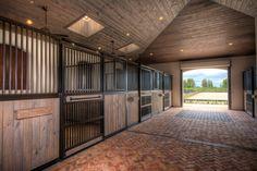 Barn Stalls, Horse Stalls, Horse Barns, Dream Stables, Dream Barn, Equestrian Stables, Horse Barn Designs, Horse Barn Plans, Horse Ranch