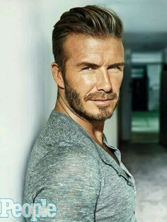 "~ † David Beckham † Peoples Magazine""s Sexiest Man 2015 ~"