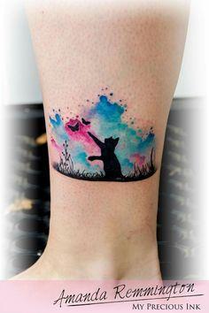 Resultado de imagen para cat tattoo