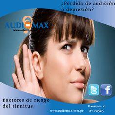 Pérdida de audición o depresión, factores de riesgo del tinnitus
