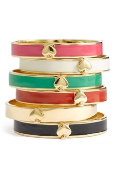 Kate Spade Spade bangles my-fashion-style
