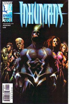 THE BEST VERSION OF THE INHUMANS TO DATE!!!  Inhumans (1998 series) #1