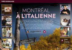 Montréal à l'italienne - La Presse+ Jardin Luxuriant, Restaurants, Broadway Shows, Gardens, Learn Art, Playing Card Games, Restaurant