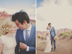 Red Rock Wedding Portrait Session. Imagine getting married in Sedona and having your wedding photos taken in red rock country... swoon