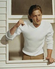 Norman saves the day. | The 23 Sexiest Pictures Of A Young Norman Reedus