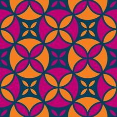 """Grafica di Erika Saetti: """"Summer Forms"""" #pattern #thecolorsoup #flowers #colors #textile #design #style #texture"""