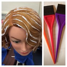 Baylage is a French word that means sweep, it is an interesting way to color your hair in a quiet subtle way. This technique is done using rubber brushes. Purchase on www.mareeandre.com or email orderss@sbcglobal.net