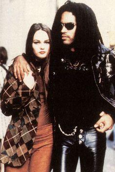Vanessa Paradis and Lenny Kravitz by Jean-Baptiste Mondino