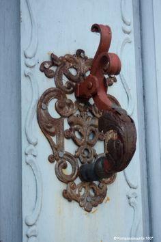 Door knocker,Haapsalu, Estonia