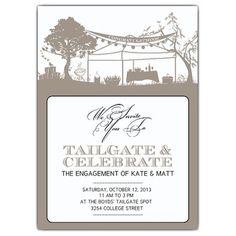 tailgate party invitation