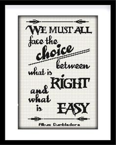 Buy 2 get 1 free. Albus Dumbledore quote. Harry by GlazovPattern