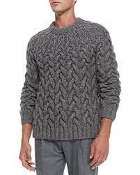 Znalezione obrazy dla zapytania wool cable knit chunky sweater from Michael Kors