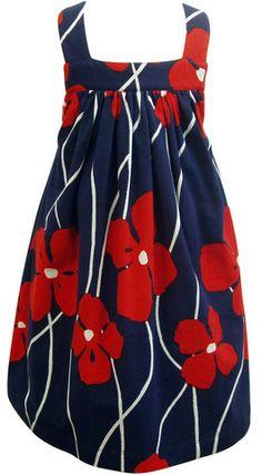 mandy dress / pansy $60.00 - $68.00 sundress with crossback straps