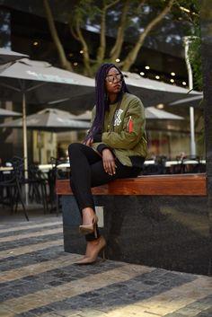 Galxboy bomber jacket Black Women, Street Wear, Bomber Jacket, Woman, How To Wear, Jackets, Style, Fashion, Down Jackets