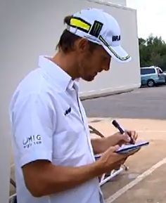 Jensen Button. Famous Left Handed People, F1 Drivers, Captain Hat, Buttons, Sports, Awesome, Hot, Hs Sports, Sport