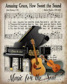 Amazing Art Print by Jean Plout. All prints are professionally prin… Amazing Kunstdruck von Jean Plout. Sheet Music Crafts, Sheet Music Art, Vintage Sheet Music, Vintage Sheets, Piano Crafts, Music Artwork, Art Music, Musik Illustration, Images Vintage