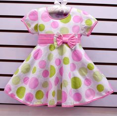 http://www.aliexpress.com/store/group/0-3Y-baby-dress/621900_251275078/2.html new arrival 2013 summer fashion discounts girls' short sleeve topolino sundress for girls in polka dots for children's dress