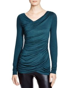 Dylan Gray Ruched Front Top