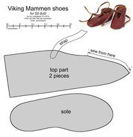 free patterns for doll-size shoes, clothes and hats by scargeear