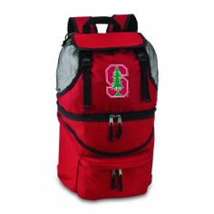 NCAA Stanford Cardinals Zuma Insulated Backpack by Picnic Time. $43.81. One Zuma insulated backpack in team colors with digital print team logo. Durable polyester canvas construction. Wipe clean. Digital print team logo. Features dual sections, great for keeping clothes dry, and foods at the right temperature. Show your team spirit with this Picnic Time Zuma Backpack, in your team colors with a digital print team logo. This unique and innovative Zuma Insulated Backpack...