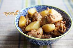 Ayam Pongteh Recipe (Nyonya Chicken and Potato Stew) Adapted from: House of Annie Ingredients: 2