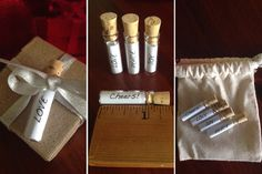 3 ways to top your holiday gifts!  Messages in Bottles, Sparkly Snowflake Tags, Hand-Stamped Gift Tags...  50% OFF