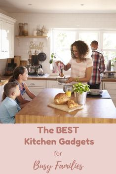 The Best Kitchen Gadgets for Busy Families | hotandsourblog.com