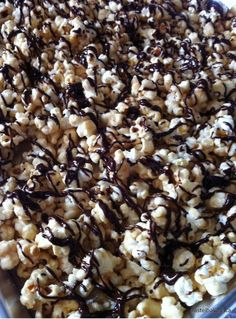 Gluten Free Dairy Free Marshmallow Caramel Popcorn