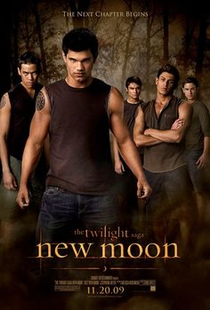 New Moon, my favorite book of the series, favorite movie so far...and by far the best eye candy