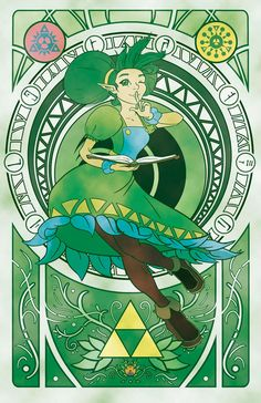 The Legend of Zelda, The Goddess Farore / Oracle of Secrets by MGabric on deviantART