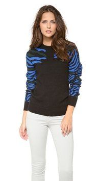 Torn By Ronny Kobo Shauna Zebra Sweater Size: 4 (S)New with tags 45% off Retail WAS $220.00 NOW $120.00