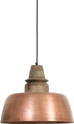 Cottage stijl hanglamp Biliardo brons indoor & outdoor verlichting ...