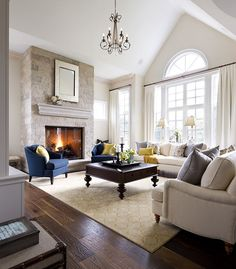 Southwest Family Room Interior Design