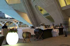 REX catering en el Palau de les Arts