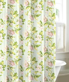 Transform Your Bathroom Into A Relaxing Garden With This Laura Ashley  Shower Curtain. Made From Soft, Breathable 100 Percent Cotton, These  Curtains Are ...