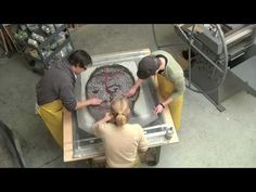 Chuck Close - Papermaking Time Lapse