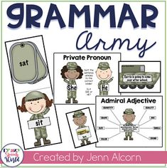 Grammar Games for Speech Therapy