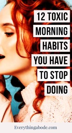 Morning Habits, How To Stay Healthy, Everything, Routine, Lifestyle, Ideas, Articles, Thoughts