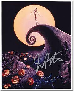 [直筆サイン入写真] ティム・バートン Tim Burton (ナイトメアー・ビフォア・クリスマス)【楽天市場】