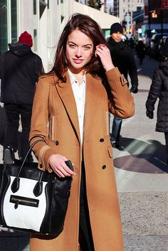 {at the office : black & white and camel} by {this is glamorous}, via Flickr